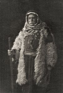 Wilfred Southall in traditional Palestinian dress